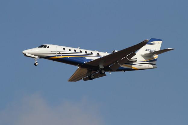 ふたたびCessna C680 N989H 飛来