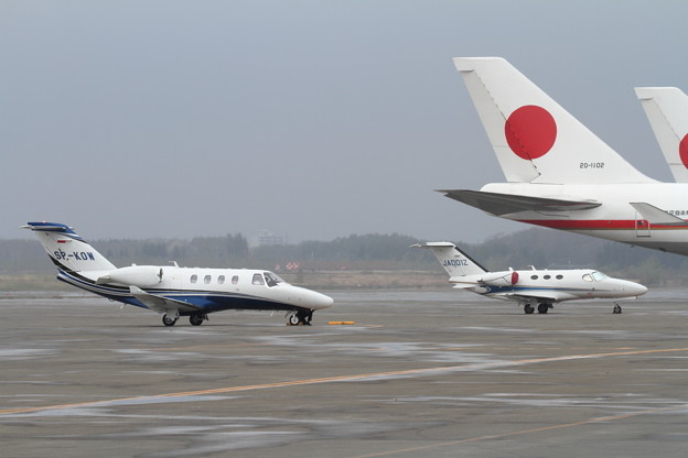 Cessna C525M2とC510