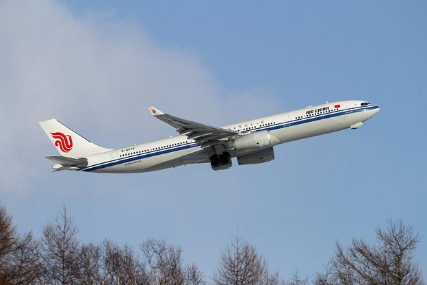 A330 Air China B-8579 takeoff