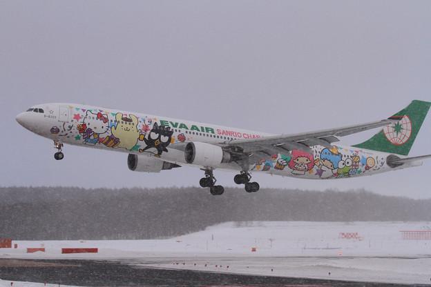 Photos: A330 EVA  B-16333 Rwy01Lにlanding