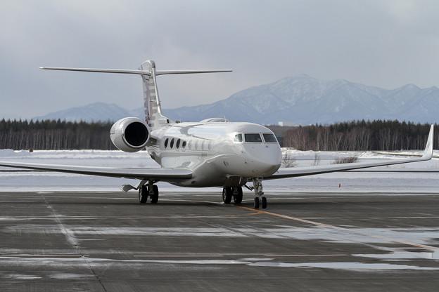 Gulfstream G650ER A7-CGA Qatar Executive spot in