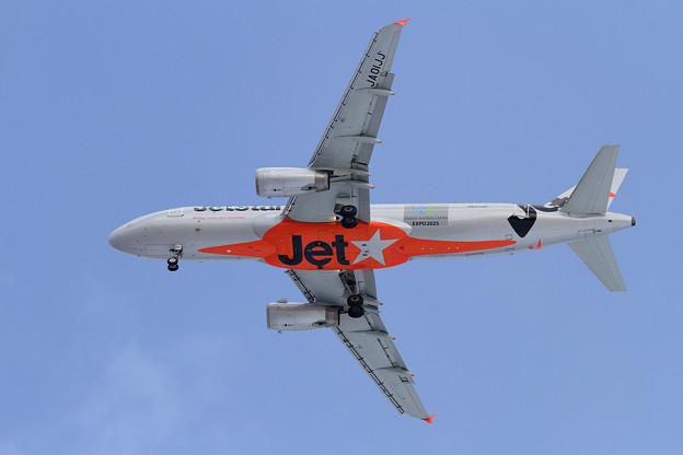 A320 Jetstar osakaEXPO2025 JA01JJ
