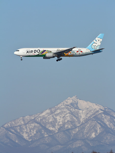B767 ベア・ドゥ北海道JET approach