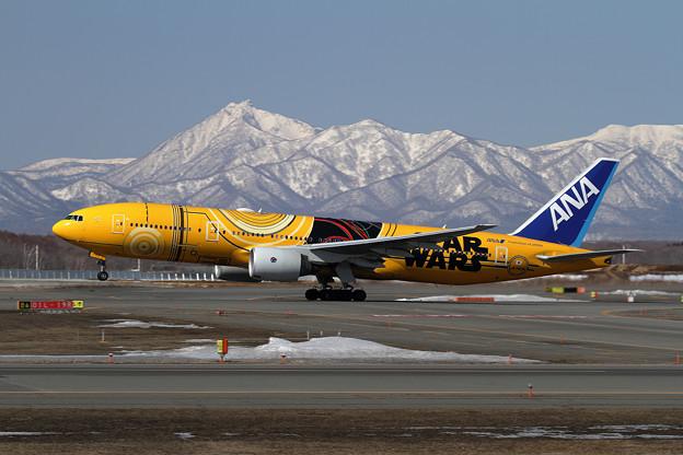 B777 C-3PO ANA JET takeoff
