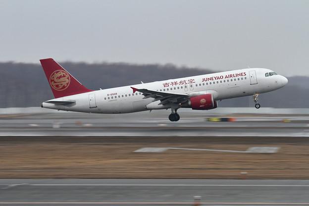 A320 吉祥航空 B-6948 takeoff