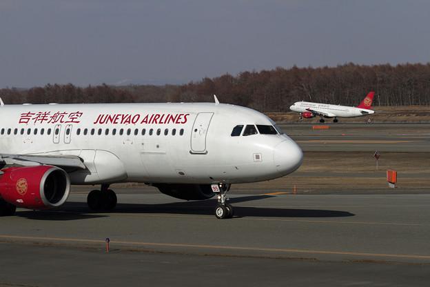 A320 吉祥航空が2機