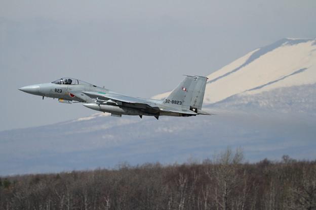 F-15J 823 203sq takeoff