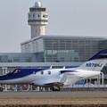 写真: 久々のHDJT HA-420 N878HJ departure