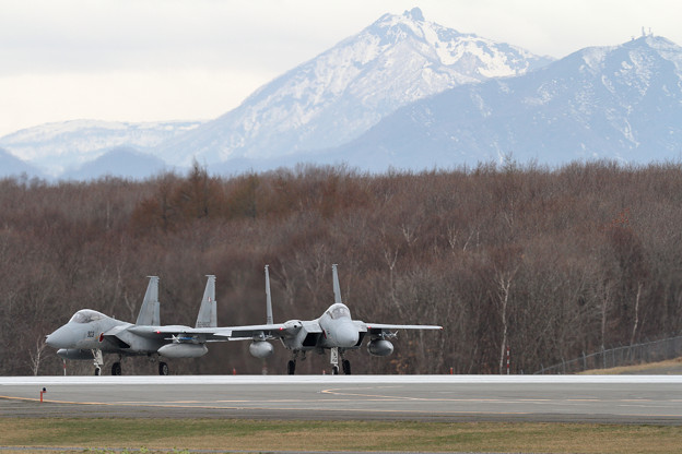 F-15 203sqと恵庭岳(2)