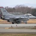 写真: F-16C 91-0411 WW 13FS (1)