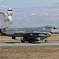 写真: F-16C 91-0411 WW 13FS (3)