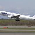 写真: B777 JAL JA771J takeoff