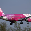 Photos: A320 APJ ShopPeach online JA816P