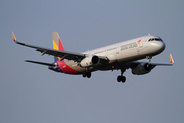 A321 ASIANA HL8038 approach