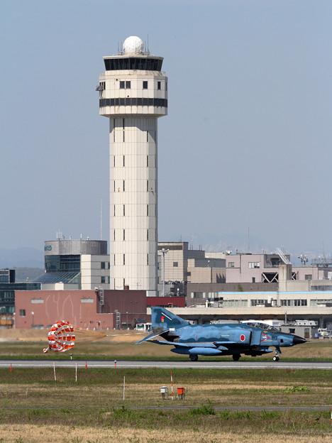 Photos: RF-4E 913 501sq飛来 (1)