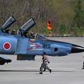 Photos: RF-4E 913 501sq飛来 (4)