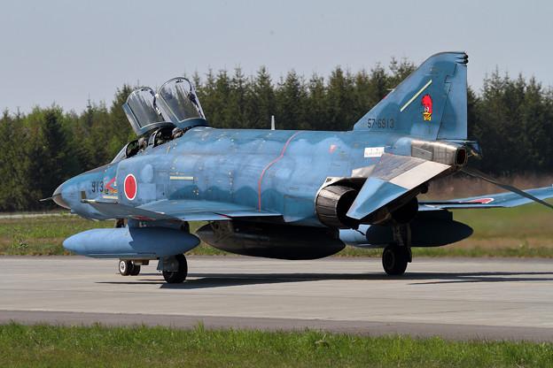 RF-4E 913 501sq飛来 (5)