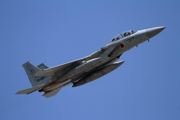 写真: F-15DJ 077 201sq takeoff