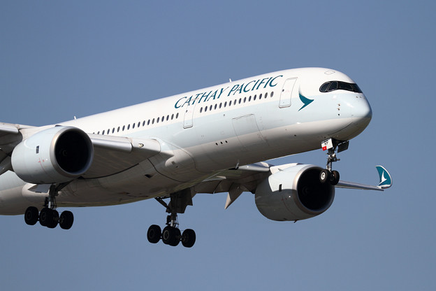 A350-9 CPA B-LRP 初飛来 (2)