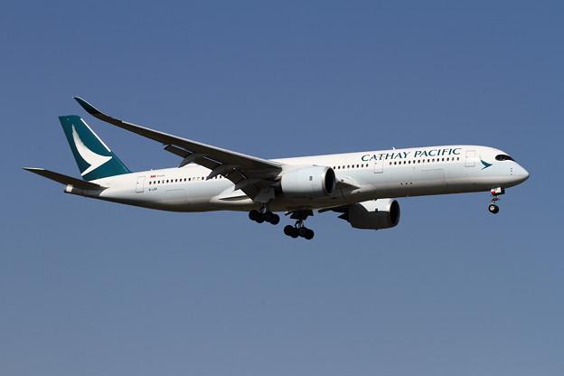 A350-9 CPA B-LRP 初飛来 (3)