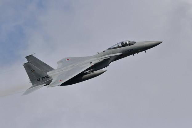 写真: F-15J 832 201sq takeoff