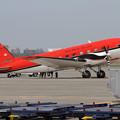 写真: 今年も来ていたBT-67 C-FBKB (1)