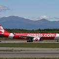写真: A330 Thai AirasiaX HS-XTD takeoff roll