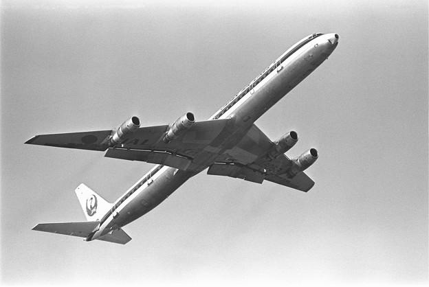 DC-8-61 JA8058 JAL CTS 1980頃