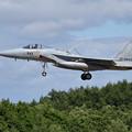 写真: F-15J 943 204sq approach