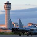 Photos: F-15J 951 204sq Night TRGへ (1)
