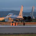 写真: F-15J 951 204sq Night TRGへ (2)