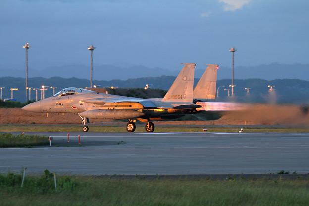 写真: F-15J 951 204sq Night TRGへ (3)