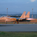 写真: F-15J 951 204sq Night TRGへ (3)