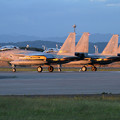 Photos: F-15 204sqがlineup (1)