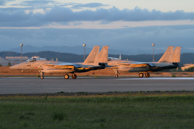 Photos: F-15 204sqがlineup (2)