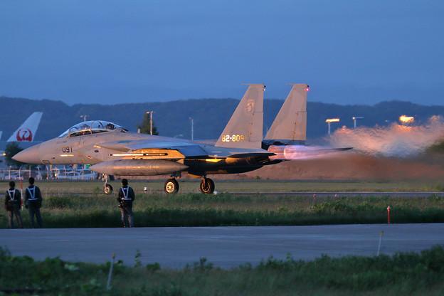 Photos: F-15J 919 204sqのtakeoff