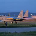 写真: F-15J 919 204sqのtakeoff
