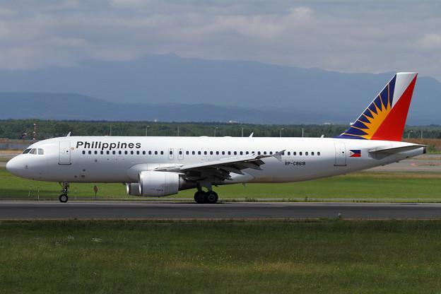 写真: A320 フィリピン航空のチャーター機
