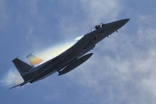 F-15 201sq 機動訓練はじまる (2)
