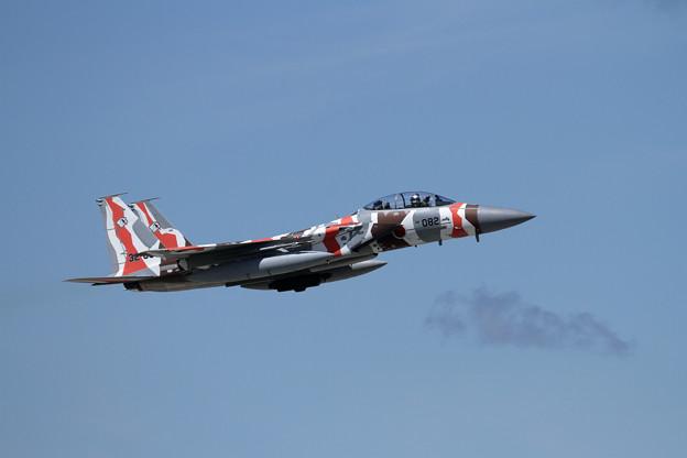 F-15DJ 082 Aggressor takeoff