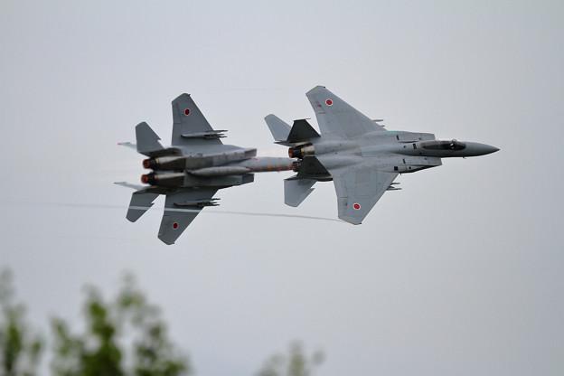 F-15 201sq 機動訓練 3日目(1)