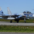 F-15DJ 090 Aggressor taxiing