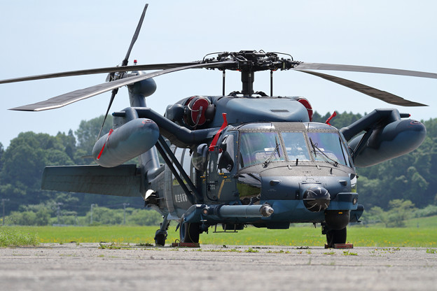 UH-60J 589 八雲分屯基地公開 (1)