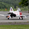 Photos: F-4EJ 302sq 特別塗装機がやって来た(2)