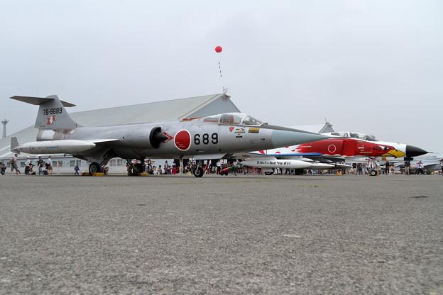 F-4EJ 302sqとF-104J チョットなつかしい(2)