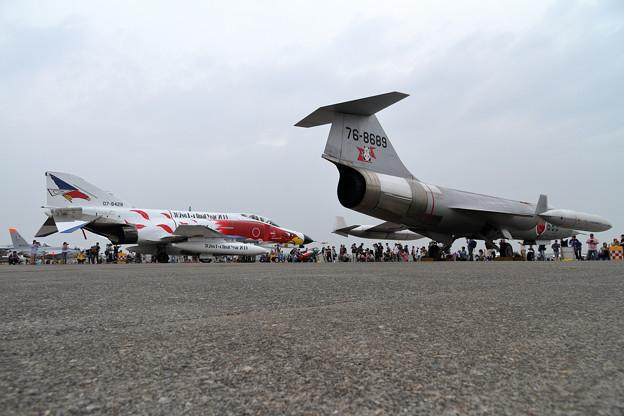 F-4EJ 302sqとF-104J チョットなつかしい(3)
