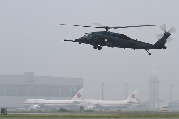 UH-60J 589 千歳救難隊
