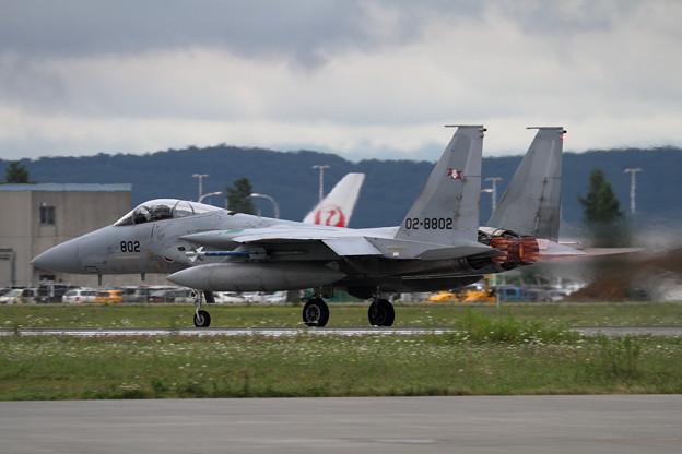 F-15 802 203sq 訓練へ(2)