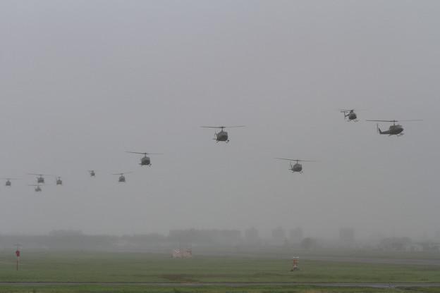 陸自北部方面航空隊 予行
