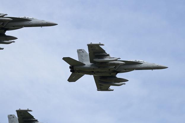 Photos: EA-18G VAQ-138 NL low pass